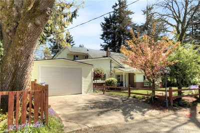 Burien Single Family Home For Sale: 15840 8th Ave SW