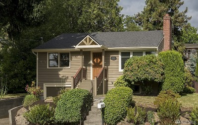 Seattle Single Family Home For Sale: 6824 46th Ave NE