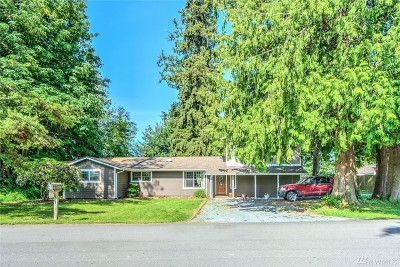 Stanwood Single Family Home For Sale: 18826 94th Dr NW