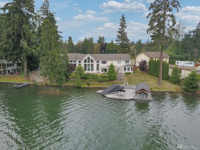 Bonney Lake Single Family Home For Sale: 7406 W Tapps Hwy E