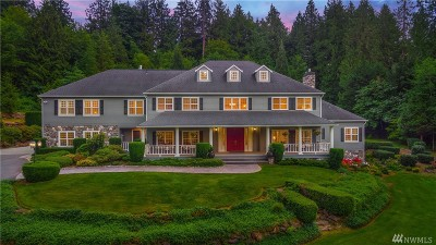 Issaquah Single Family Home For Sale: 24735 SE 56th St