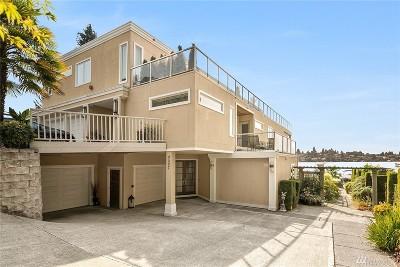 Kirkland Condo/Townhouse For Sale: 4507 Lake Washington Blvd NE