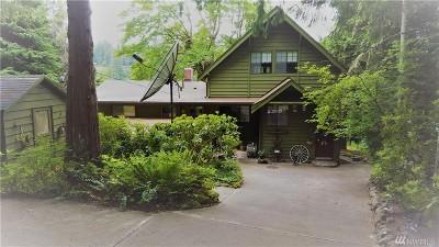 Eatonville Single Family Home For Sale: 33916 Thomas Rd E
