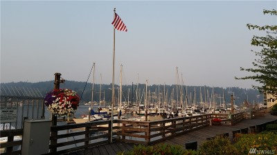 Gig Harbor Condo/Townhouse For Sale: 3801 Harborview Dr #B-5