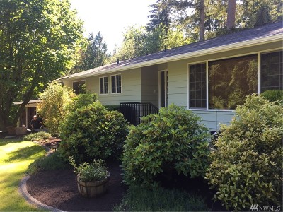 Single Family Home For Sale: 1809 Yew Street Rd