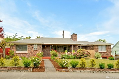 Tacoma Single Family Home For Sale: 415 S 56th St
