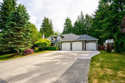 Anacortes Single Family Home Pending: 13835 Seaview Wy