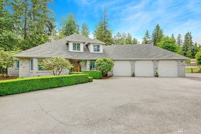 Snohomish Single Family Home For Sale: 21030 109th Ave SE