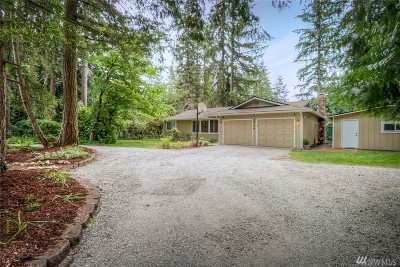 Woodinville Single Family Home For Sale: 19209 NE 165th St