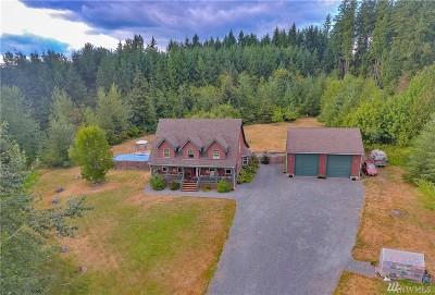 Eatonville Single Family Home Contingent: 8207 Jensen Rd E