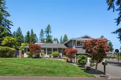 Gig Harbor Single Family Home For Sale: 2222 Aqua Vista Ct NW