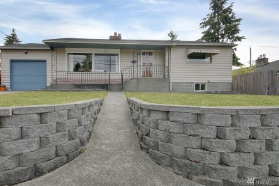 Tacoma Single Family Home For Sale: 909 N Huson St