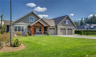 Lynden Single Family Home Sold: 6836 Baker Ridge Dr