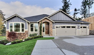 Gig Harbor Single Family Home For Sale: 2413 86th St Ct NW