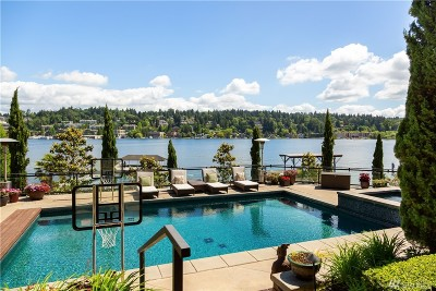 Yarrow Point Single Family Home For Sale: 4648 95th Ave NE