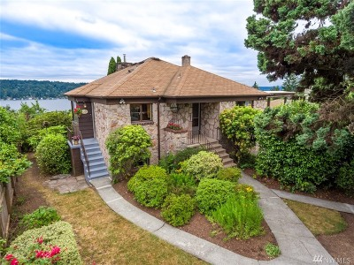 Seattle Single Family Home For Sale: 11328 Sand Point Wy NE