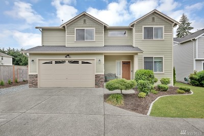 Spanaway Single Family Home For Sale: 8511 206th St Ct E