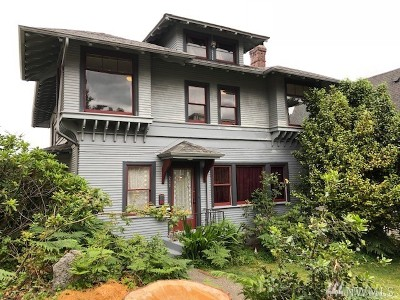 Tacoma Multi Family Home For Sale: 217 N G St