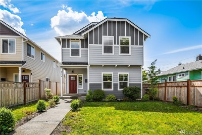 Tacoma Single Family Home For Sale: 6612 S Monroe St