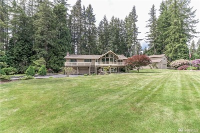Snohomish Single Family Home For Sale: 7925 206th St SE