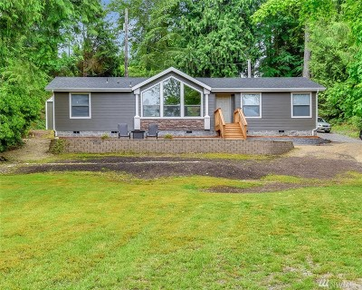 Snohomish Single Family Home For Sale: 21525 W Lost Lake Rd