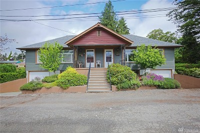 Bremerton Multi Family Home For Sale: 2 Webster Place