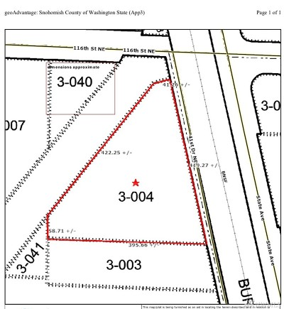 Snohomish County Residential Lots & Land For Sale: 11432 41st Dr NE