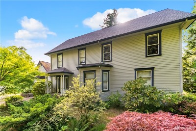 Olympia Single Family Home For Sale: 2205 Columbia St SW