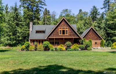 Single Family Home For Sale: 6090 Birch Point Rd