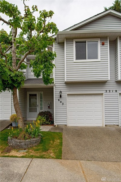 Federal Way Condo/Townhouse For Sale: 2218 S 336th St #603