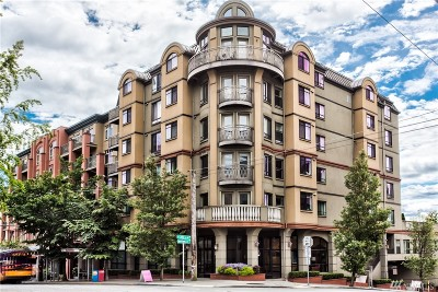 Condo/Townhouse Sold: 133 Queen Anne Ave N #605
