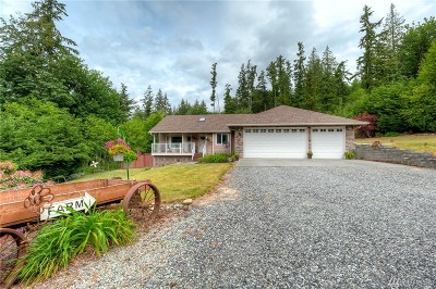 Marysville Single Family Home For Sale: 12625 Marine Dr
