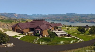 Chelan Single Family Home For Sale: 1655 Hawks Meadow Rd