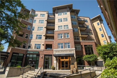 Condo/Townhouse Sold: 5450 Leary Ave NW #547