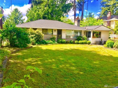 Shoreline Single Family Home For Sale: 19333 20 Ave NW