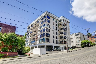 Condo/Townhouse Sold: 1001 Queenanne Ave N #301