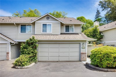 Lynnwood Condo/Townhouse For Sale: 5004 168 St SW #E