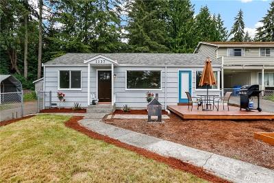 Shoreline Single Family Home For Sale: 1137 NE Perkins Wy