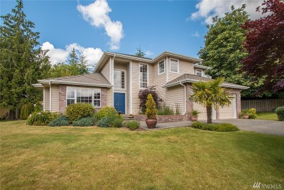 Mount Vernon Single Family Home Contingent: 4311 Landmark Dr