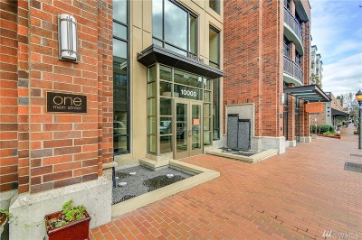 Bellevue Condo/Townhouse For Sale: 10000 Main St #201