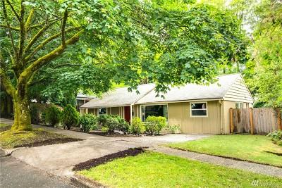 Shoreline Single Family Home For Sale: 17217 2nd Ave NE