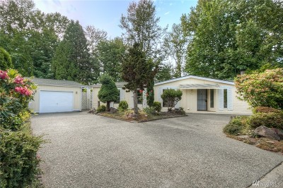 Bothell Single Family Home Contingent: 17225 Woodcrest Dr NE