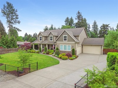 Puyallup Single Family Home For Sale: 7018 100th St E