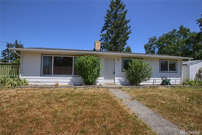 Spanaway Single Family Home For Sale: 101 167th St S
