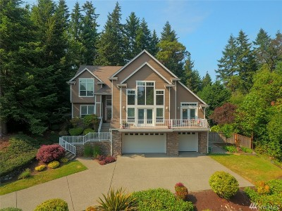 Gig Harbor Single Family Home For Sale: 7621 31st St NW