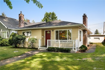 Lynden Single Family Home Sold: 1212 Front St