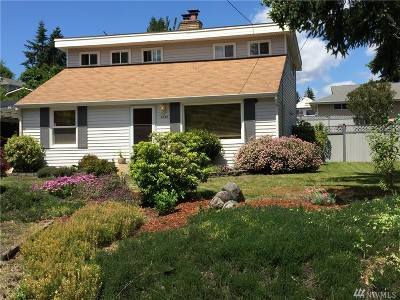 SeaTac Single Family Home For Sale: 4242 S 172nd St