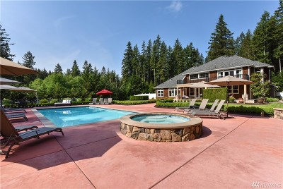 Woodinville Single Family Home For Sale: 14628 Bear Creek Rd NE