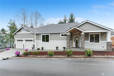 Gig Harbor Single Family Home For Sale: 3713 119th St Ct NW