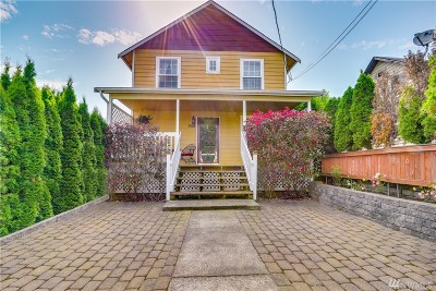 Snohomish Single Family Home For Sale: 718 Ford Ave